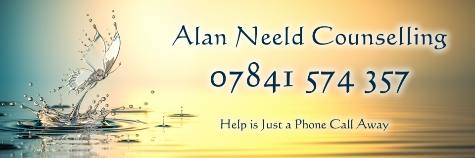 Alan Neeld Counselling - 07841 574 357 - Help is Just a Phone Call Away